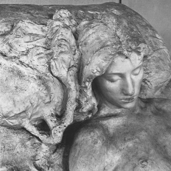 Butti, La morente, 1891, particolare