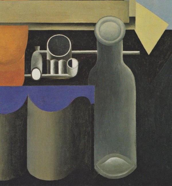 Corbusier, Natura morta, 1920, particolare
