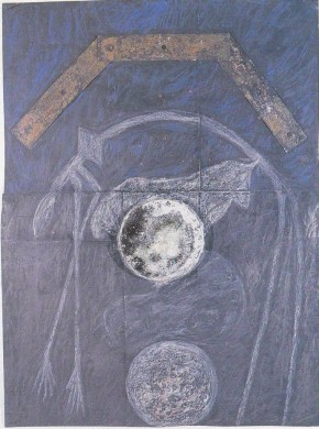 Costa, Paesaggio con luna piena, 1988