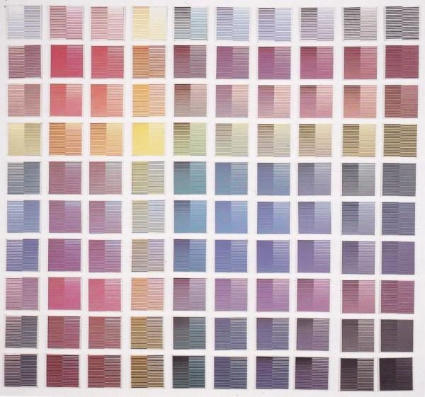 Dadamaino, La ricerca del colore, 1966-1968