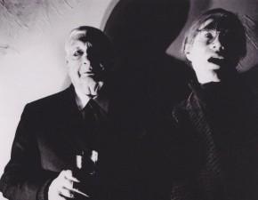 Gorgoni, Giorgio De Chirico e Andy Warhol, 1972