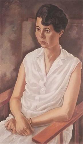 Grosz, Frau Plietzsch, 1928
