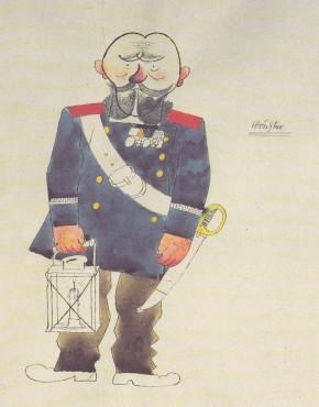 Grosz, Il vigilante, 1920