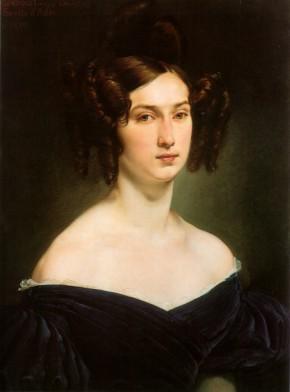 Hayez, Ritratto della contessa Luigia Douglas Scotti d'Adda, 1830