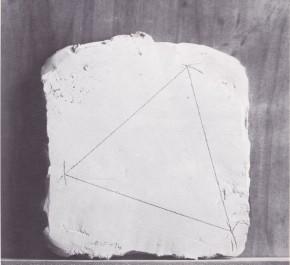 Icaro, Misura palmo triangolo, 1974
