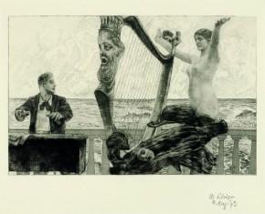 Klinger, Brahmsphantasie, 1890-1894