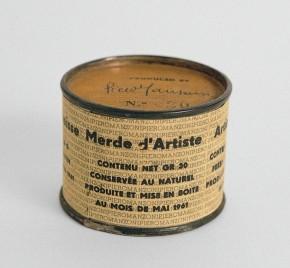 Manzoni, Merda d'artista, 1961