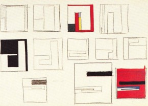Munari, Studio per Negativi-positivi, 1950
