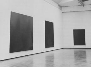 Olivieri, mostra al Padiglione d'arte contemporanea, Milano 1982