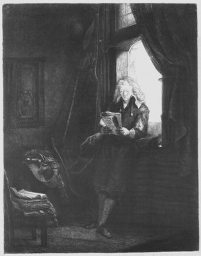Rembrandt, Jan Six, 1647