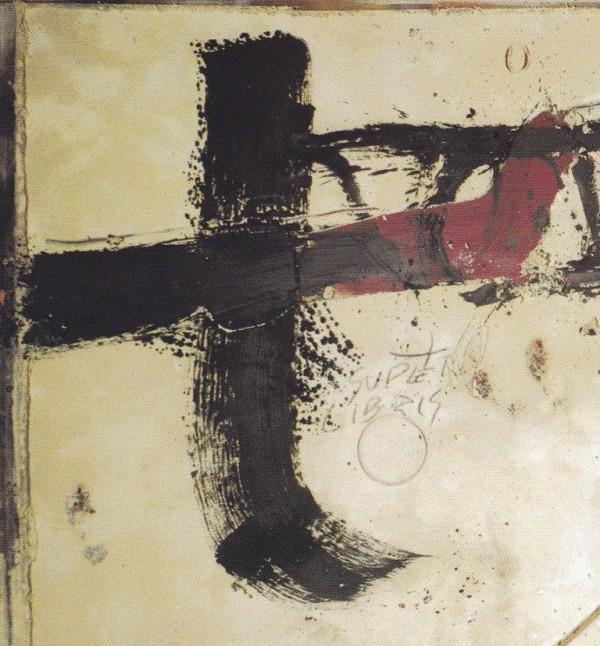 Tapies, Libre-mur, 1990, particolare