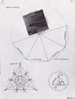 Agnes Denes, Senza titolo, 1973