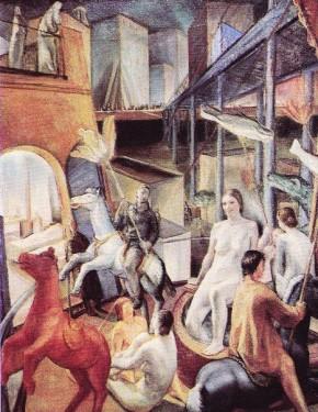 Ferrazzi, Diavoleria, 1929