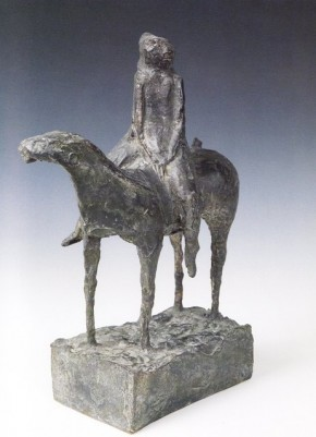Marino, Cavallo e cavaliere, 1947