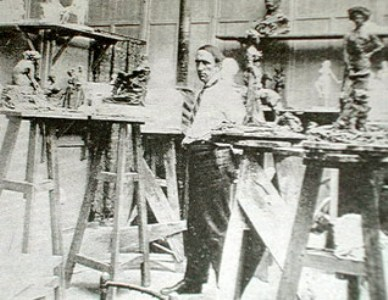 Troubetzkoy nello studio
