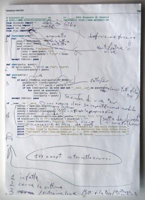 epidemiC, Biennale.py, 2001
