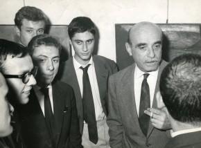 DeVecchi, Anceschi, Boriani, Colombo, Fontana, Manzoni, Galleria Pater, 1959