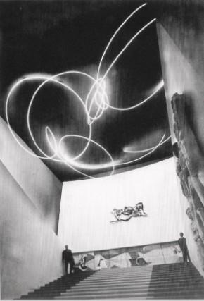 Fontana, Intervento alla Triennale, 1951