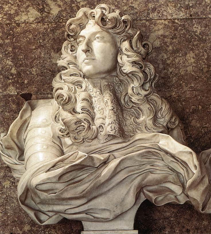 Bernini, Luigi XIV, 1665