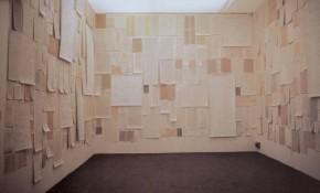 Dadamaino, I fatti della vita, installazione alla Biennale di Venezia, 1980