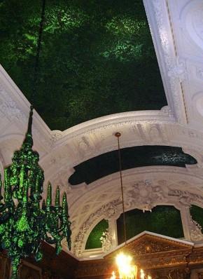 Fabre, Bruxelles, Palais Royal, Salon des Glaces, 2002