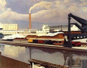 Sheeler, American Landscape, 1930