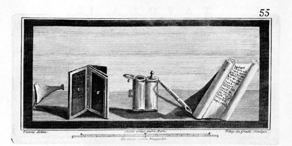 Tomo II. Le Antichità di Ercolano Esposte, Tavola IX