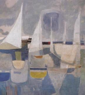 Paulucci, Vele sul mare, 1966, particolare