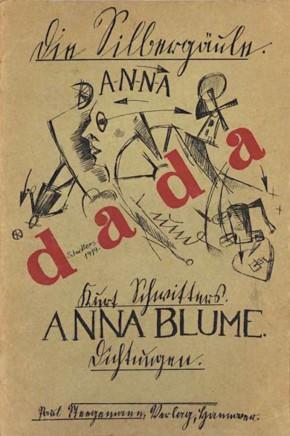 Schwitters, Anna Blume, 1919