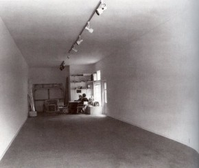 Asher, Project for Clair Copley Gallery, Los Angeles, 1974