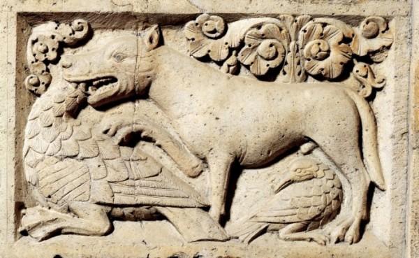 Porta della Pescheria del Duomo, Modena, 1120-1130