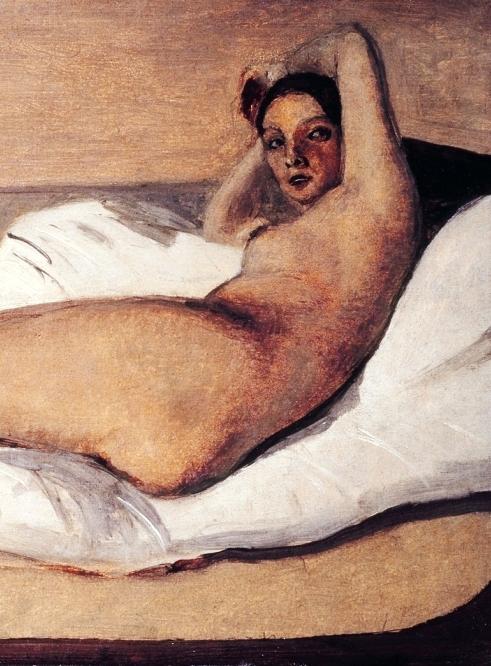 Corot, Marietta, particolare