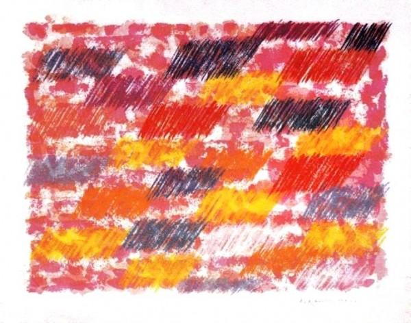Dorazio, Senza Titolo, 1980