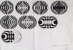Dadamaino, Oggetto ottico-dinamico, 1963-1964