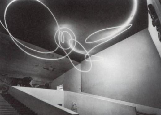 Fontana, Concetto spaziale, IX Triennale, Milano 1951
