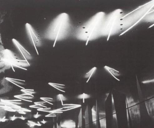 Fontana, Padiglione Sidercomit, Fiera di Milano, 1953
