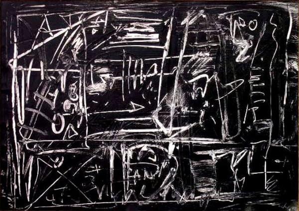 Vedova, Senza titolo, 1977