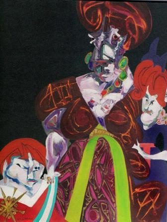 Artias, Maria Luisa e due Infanti, 1983