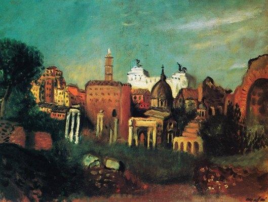 Mafai, Il Foro Romano, 1930