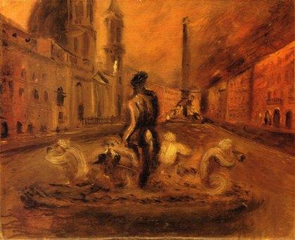 Scipione, Piazza Navona, 1930