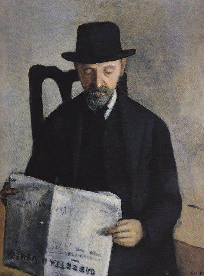 Guidi, Uomo che legge, 1927