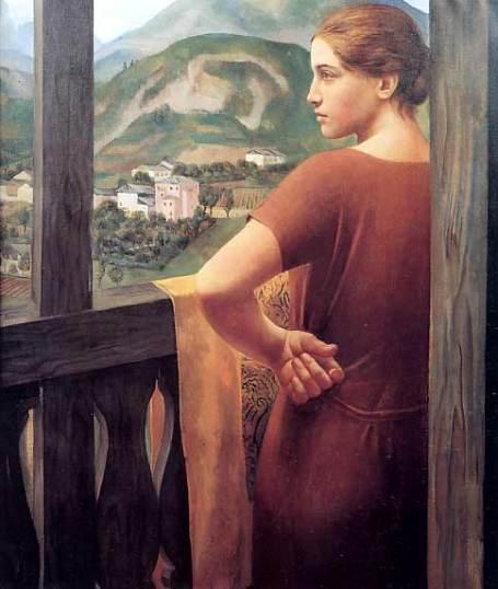 Guidi, Donna alla finestra, 1921