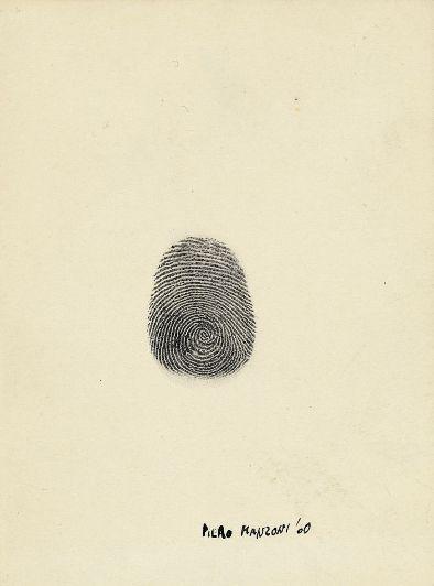 Manzoni, Impronta, 1960
