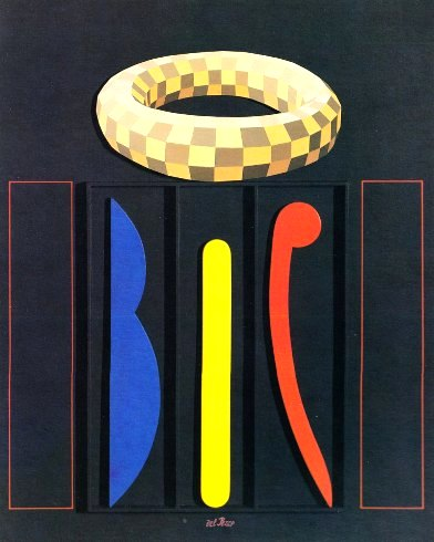 Del Pezzo, Mazzocco quadrettato, 1992
