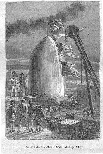Verne, De la Terre à la Lune, 1865