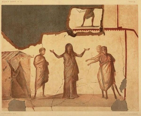II. Cappella Greca. Susanna difesa da Daniele