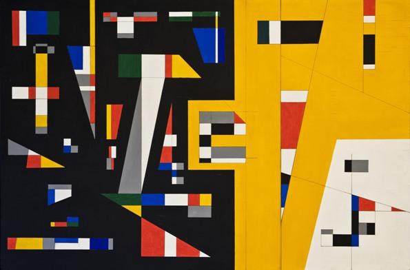 Crippa, Composizione geometrica, 1950