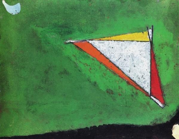 Licini, Notturno, 1956