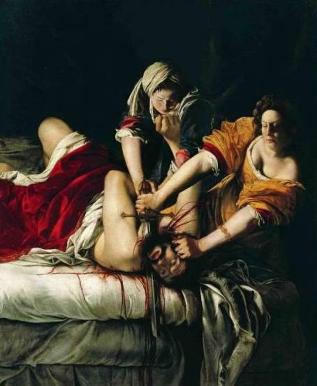 Artemisia Gentileschi, Giuditta decapita Oloferne, 1620-1621