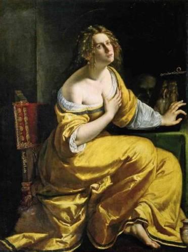 Artemisia Gentileschi, Maddalena, 1617-1618